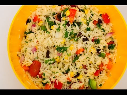 Quick and Easy Rice Salad Recipe Guide