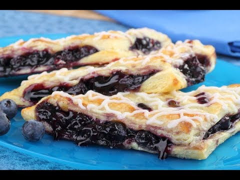 HOW ITS MADE : BLUEBERRY TURNOVERS