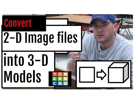 TinkerCAD (+) Create 3D Objects from 2D Images