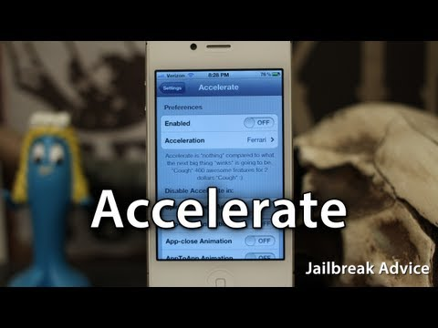 [Jailbreak Advice] Accelerate - Speed Up Animations In iOS