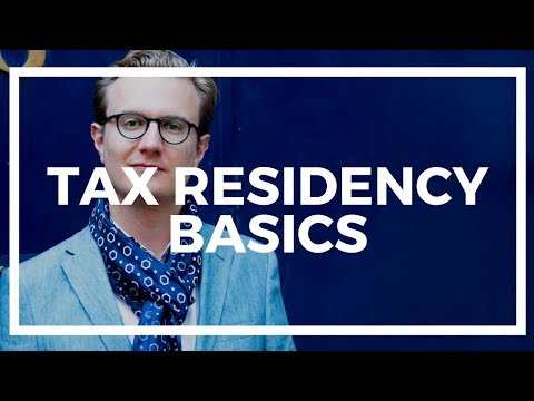 How second residency and tax residency are different