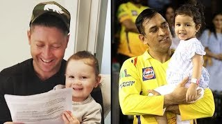 Daughters Of Famous Cricketers - Ms Dhoni...