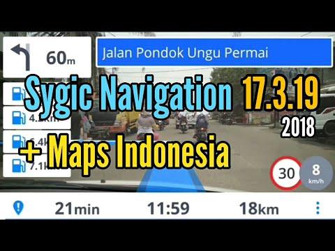 Sygic Navigation 17.3.19 + Maps Indonesia Full