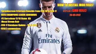 How to apply mods to FIFA 17