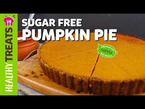 Low Carb Sugar Free Pumpkin Pie Recipe - Natvia's Healthy Treats & Dessert Recipes
