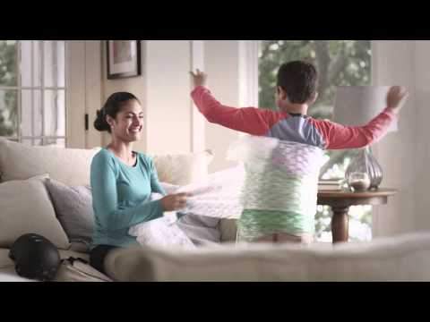 Blue KC Bubble Wrap Commercial