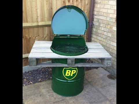 Oil Drum BBQ Build