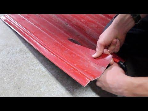 Using Tin Snips