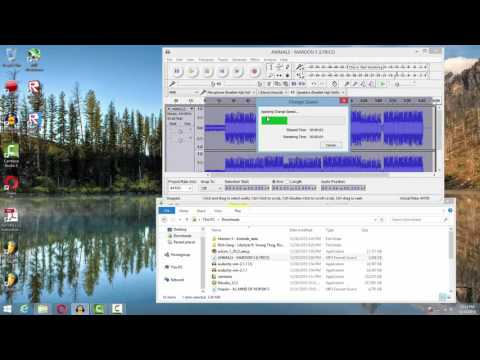 How to remix songs in audacity
