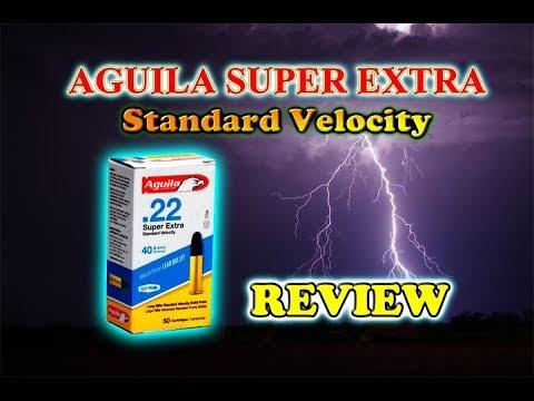 Ammunition Review: Aguila Super Extra Review .22 Cal.