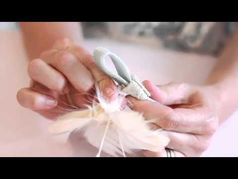 How To Make A Wedding Flower Veil