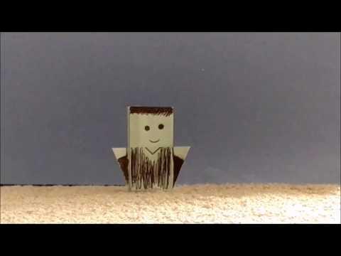 Origami Person