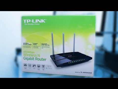 Unboxing / Reseña: Router TP-Link TL-WR1043ND - Router Bueno Bonito y Barato