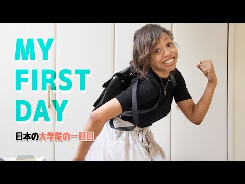 First Day of School in Japan [Student Vlog 01]