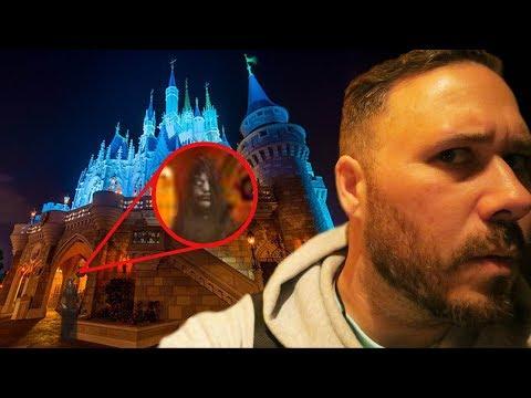 Exploring Disney World ALONE At 3AM (HAUNTED)   OmarGoshTV