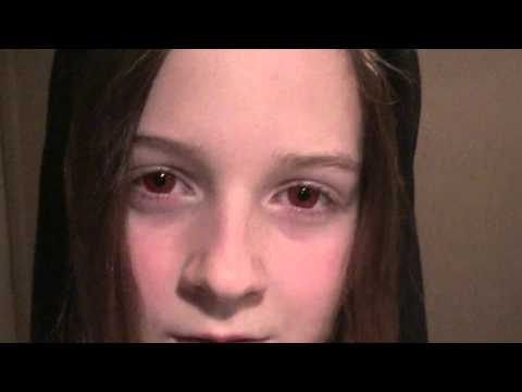 Evil Red Eyes Emily - Twilight Volturi Girl!