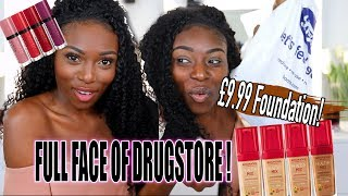 £9.99 FOUNDATION! MY FIRST IMPRESSIONS OF A DRUGSTORE MAKEUP BRAND IVE NEVER USED BEFORE