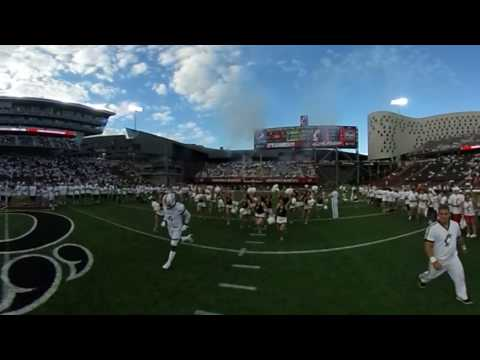 UC Football: The Bearcats Take The Field in 360 Degrees