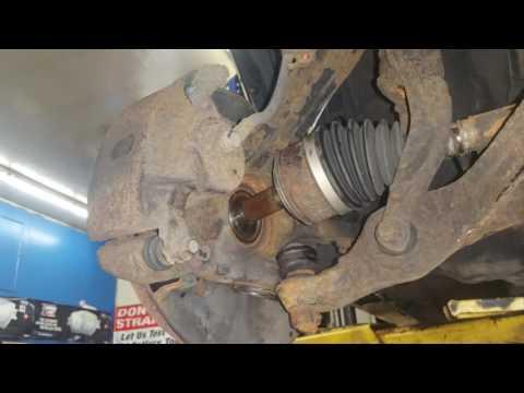 2005 Honda Accord lower ball joint cv axle