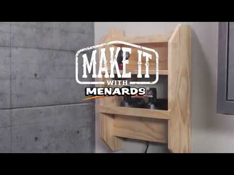 Power Tool Charging Station - Make It With Menards