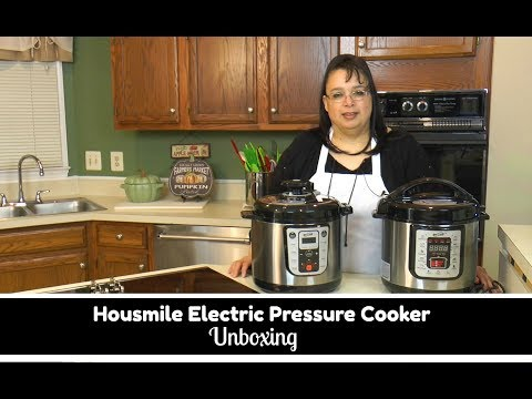 Housmile Electric Pressure Cooker Unboxing ~ Amy Learns to Cook