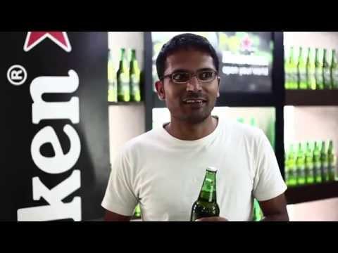Award winning viral marketing campaign by Heineken India