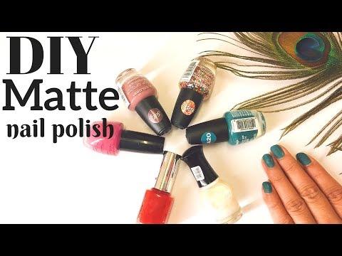 Diy matte nail polish in Hindi | Matte nail paint at home | DIY matte nail art | AVNI