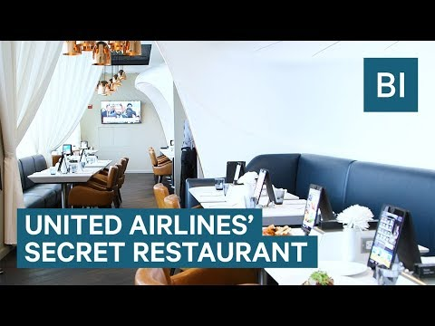 United's secret restaurant hidden in Newark Airport is invite-only