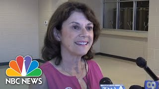 Wisconsin Republican U.S. Senate Hopeful Casts Vote In State Primary   NBC News