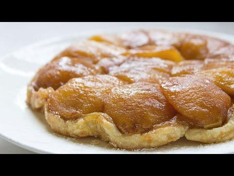 Apple Tarte Tatin (French Caramel Apple Tart) - Hot Chocolate Hits