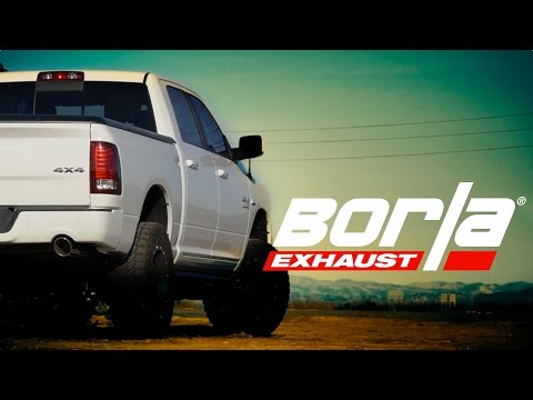 Borla Exhaust for 2009 - 2018 Ram 1500 Trucks