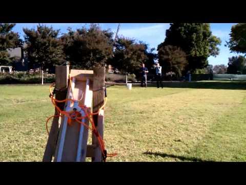 Tennis ball Catapult