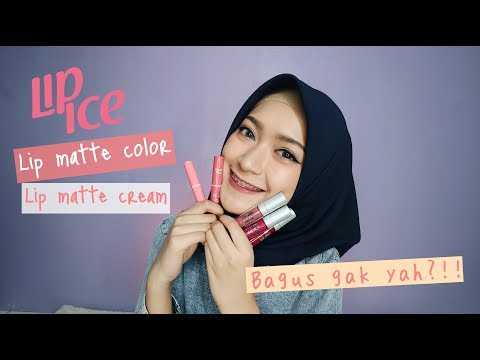 REVIEW LIPICE MATTE COLOR DAN MATTE CREAM | SARITIW