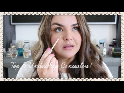 Top 5 Under Eye Concealers ~ Collab With Natasha Summer