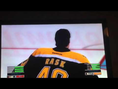 NHL Legacy goalie fight