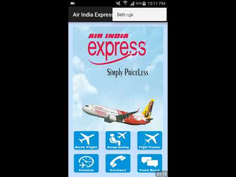 How To Book Flight Tickets in Airindia Express  (Video)