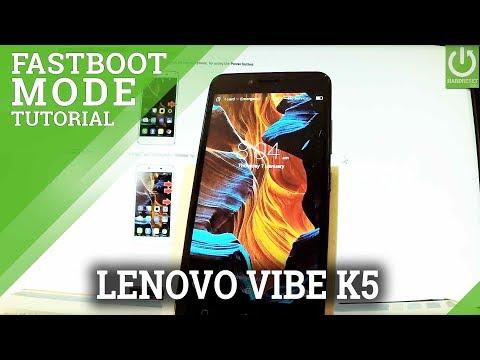 Fastboot Mode in LENOVO Vibe K5 - Enter / Quit LENOVO Fastboot