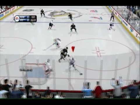 NHL 09 Oilers vs Penguins