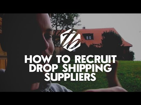 Drop Shipping Suppliers — How To Recruit Suppliers Outside Of AliExpress   | #168