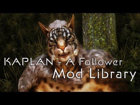 Skyrim Mod Library - KAPLAN - A Follower