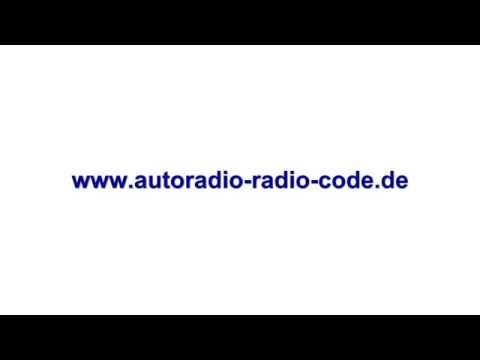 Audi Radio Code RNS-E Navi Plus MMI Radiocode alle Modelle