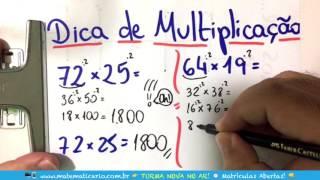 ⏱ TRUQUE DA MULTIPLICAÇÃO USANDO O NÚMERO 2 👉 Minuto Matemática