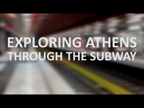 Exploring Athens through the subway | Line 2 (Red)