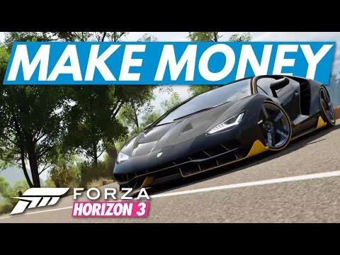 Forza Horizon 3│How To Make Money!