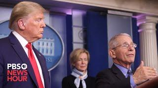 WATCH LIVE: White House updates public on U.S. coronavirus response