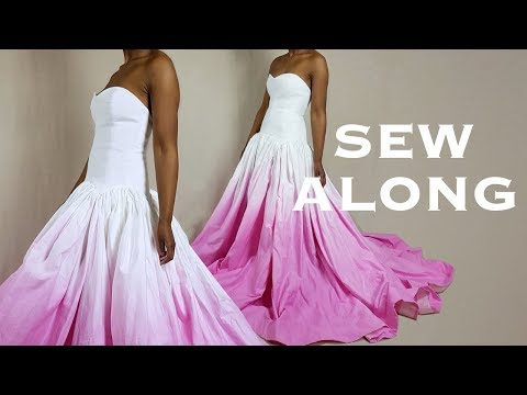 DIY Prom/Wedding Ball Gown Dress (Sew Along)