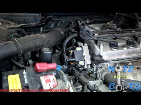 1998-2002 Honda Accord Distributor Cap and Rotor remove and install