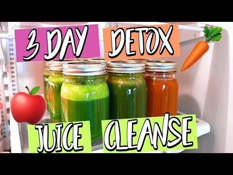 3 DAY DETOX JUICE CLEANSE! LOSE WEIGHT IN 3 DAYS!