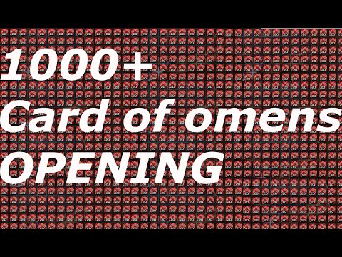 WoW : Flipping 1000 Card Of Omen