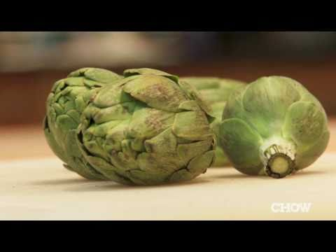 How to Prep Young Artichokes - CHOW Tip